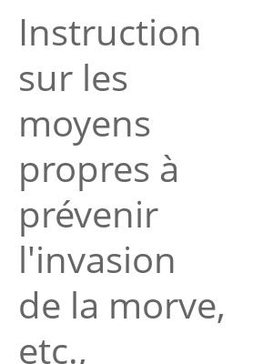 """Afficher """"Instruction sur les moyens propres à prévenir l'invasion de la morve, etc., imprimée par ordre du Comité du salut public"""""""